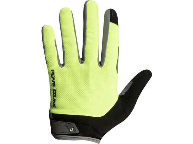 PEARL iZUMi Attack Fietshandschoenen Lange Vingers, grijs/geel